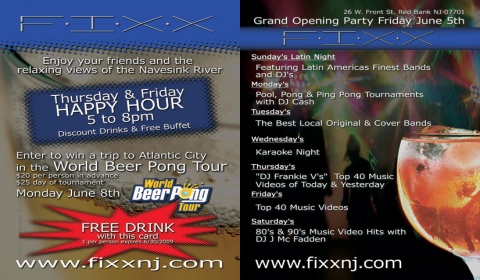 FIXX May Postcard Design