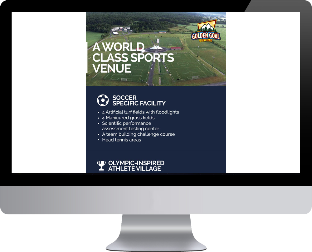 Golden Goal HTML Email Marketing Templates