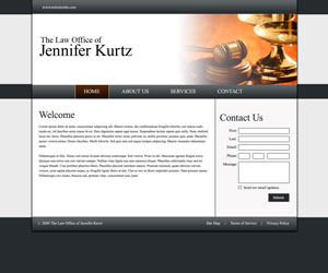 Kurtz Law Website Design
