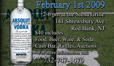 Siena Grille Super Bowl XLIII Postcard Design