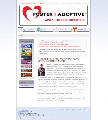 Foster and Family Services Website